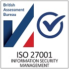 Certified ISO 27001